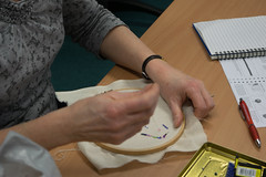 DSC_0731 (surreyadultlearning) Tags: embroidery sewing adulteducation surrey camberley art craft tutor uk painting calligraphy photography