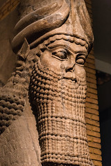 Cool Beard, Brah (Daveography.ca) Tags: ancient assyria england britishmuseum old greatbritain sculpture unitedkingdom historical london museum beard history face statue thebritishmuseum gb uk balawatgates