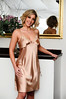 9062 Gold (alex.silk) Tags: lingerie camisetsandclothing robes pyjama chemise nightdress lingerieme