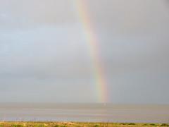 Morecambe Bay - Rainbow 170129 (maljoe) Tags: rainbow morecambe morecambebay