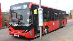 P1490291 1266 YX17 NWG at Leytonstone Station Kirkdale Road Leytonstone London (LJ61 GXN (was LK60 HPJ)) Tags: hackneycommunitytransportgroup ctplus enviro200 enviro200mmc enviro200d enviro200dmmc e200d majormodelchange mmc 109m 10870mm 1266 yx17nwg g2702 ctnew64