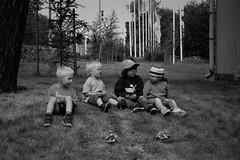 Brave New World ~ I hope. (Teteel) Tags: children people kids bw blackandwhite