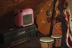 Backside (shortscale) Tags: guitar harmony bongo vox amp da5 marshall jtm45 smcpentaxm11750mm