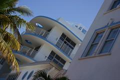 Miami (Bob Bain1) Tags: blue trees sky usa america buildings arty florida miami palm artdeco miamibeach deco southbeach southflorida oceandrive canon550 rebelt3