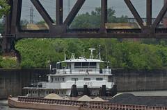 LELIA C. SHEARER (Joe Schneid) Tags: kentucky transportation louisville ohioriver towboat inlandwaterway inlandwaterways americanwaterways leliacshearer campbelltransportation