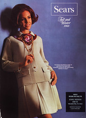 sears 69 fw cover (jsbuttons) Tags: 1969 clothing 60s buttons sears womens cover catalog 69 sixties pleated skirtsuit vintagefashion
