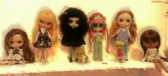 Dulcinea, Schweppes,  London, Guava, Mia, Aaliyah.  Blythe love.