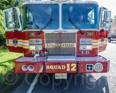 Squad 12 Fire Truck, Mercerville Fire Department, New Jersey (jag9889) Tags: usa newjersey unitedstates unitedstatesofamerica nj firetruck apparatus mercercounty gardenstate 2014 hamiltontownship mercervillehamiltonsquare jag9889