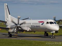 G-CERZ | BA CityFlyer / Eastern Airways Saab 2000 (Joshua_Risker) Tags: city flyer 2000 british ba airways eastern saab cityflyer gcerz bacf