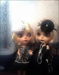 Blythe-a-Day June 2014 #13: Friends: Daisy Buchanan and Cousin Maisie