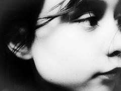 (Catherine...) Tags: portrait bw face hair noiretblanc grain grainy boucles artlibre