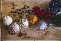 Drizzle Ice Cream (mkealcoran) Tags: food ice cooking mike coffee fruits dessert photography los angeles cream strawberries desserts apples blackberries specialty cerritos artesia mke alcoran mkealcoran