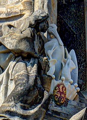 20140504_111041_DSC_6001And2more_fused (David Pirmann) Tags: barcelona sculpture church statue religious spain gaudi sagradafamilia hdr