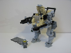Infiltrator [Pilot] (ExclusivelyPlastic) Tags: game video lego military mecha mech hawken