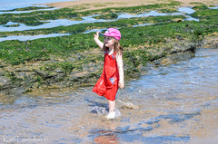 It's Only Water (karllaundon) Tags: family sea summer sun cute beach fun happy seaside day child laugh northeast rockpool redcar