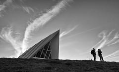 Operatic sky (screenstreet) Tags: blackandwhite silverefexpro nationalarboretumcanberra photowalkcanberra margaretwhitlampavilion