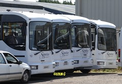 Signature Cannons (Coco the Jerzee Busman) Tags: uk bus islands signature cannon jersey channel coaches lcb