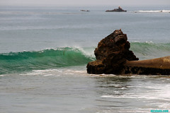 RockTube (mcshots) Tags: ocean california travel sea usa beach nature water point coast rocks surf waves stock socal summertime breakers mcshots swells combers peelers losangelescounty
