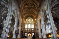 Tübingen church interior