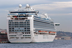 Istanbul 55 (Alexxx1979) Tags: city november autumn turkey ship istanbul cruiseship strait bosphorus осень город турция ноябрь 2013 судно стамбул босфор пролив rubyprincess круизноесудно