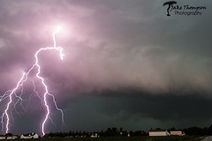 Close Lightning (JakeChaser) Tags: clouds canon illinois thunderstorm lightning storms thunderstorms