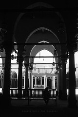 Mosque of Amr ibn al-As ( | Asha) Tags: bw egypt mosque cairo amribnalas