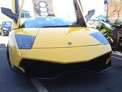 Lamborghini Murcielago (mangopulp2008) Tags: new march 9 lamborghini meet gumball kreme malden murcielago 2014 krespe