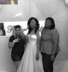 DAJA PROM-9 BW (AHummons Photography) Tags: family school people woman chicago black senior beautiful youth happy high hugging community hug princess african secret joy young happiness prom american lives embrace