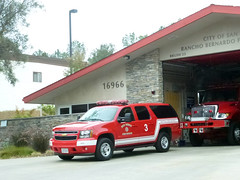 Rancho Bernardo 7-12-14 (1) (Photo Nut 2011) Tags: california truck sandiego firetruck firestation suv firedepartment ranchobernardo