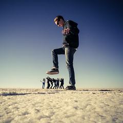 Squashed (MastaBaba) Tags: giant foot flat salt bolivia squash giants uyuni potosidepartment 20140619
