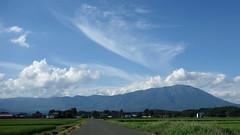 Mt.Iwate. (shig.) Tags: blue sky cloud mountain clouds sony rx mtiwate bulesky rx100 dscrx100