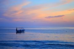 Boat in sunset - Levanto (enricorinaldi22) Tags: life travel summer sky italy color love beach colors amazing holidays moments italia mare photographer estate like loveit sole acqua viaggio spiaggia followme likeit lovesummer enricorinaldiph