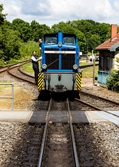 Rgensche Bderbahn (Kate Dorset) Tags: heritage train germany island rail railway steam roland locomotive northern rgen gauge narrow binz putbus ghren bderbahn rasender rgensche