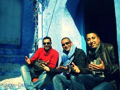 Chaouen la ville en bleu et blanc (Desert events) Tags: desert events karim chefchaoun dehbi