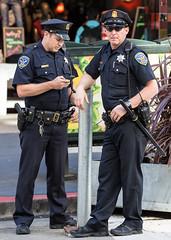 (seua_yai) Tags: sanfrancisco california street people urban usa men america downtown candid thecity police bayarea northamerica marketstreet sfpd