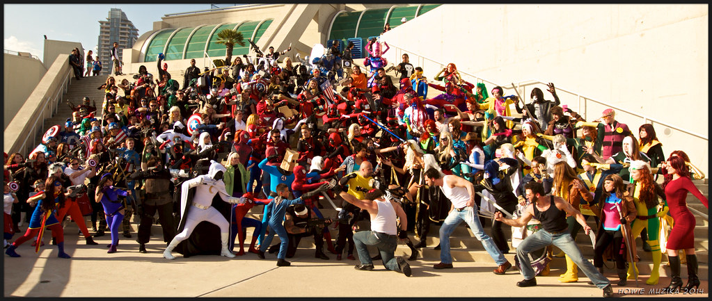 Image result for marvel comic con san diego 2017