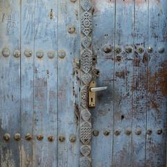 Abstract door with numbers (heshaaam) Tags: door bahrain muharraq