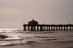 Manhattan_Beach_CA_0013 (josh-rodriguez) Tags: ocean california beach pier pacific manhattanbeach skimboarding skimboarder