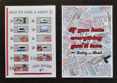 Keep rolling - Daily Mail edition (id-iom) Tags: uk england streetart london art love up print weed skin notice arts fake coffeeshop safety advert roll dope brixton cannabis joint infographic legalise skinup idiom flightsafety