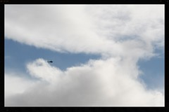 Police on the hunt (Zelda Wynn) Tags: weather sunny auckland policehelicopter cloudscape troposphere weatherwatch zeldawynnphotography
