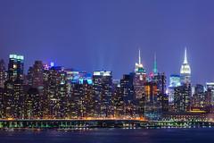 The Buildings Of New York (Vagrant Sneaker) Tags: nyc newyorkcity longexposure nightphotography newyork building skyline night buildings newjersey nikon skyscrapers nj streetphotography empirestatebuilding newyorkbuildings teamnikon d7100 vagrantsneaker thebuildingsofnewyork