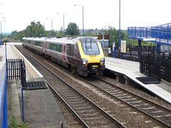 220011 Swinton (Dancing is a waste, of drinking time.) Tags: xc xcountry southyorkshire demu swinton class220