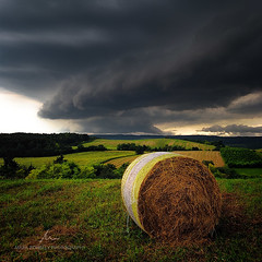 Viharok idejn / During Storms (Mrk Borbly :: www.markborbely.com) Tags: summer sky cloud storm nature clouds landscape hungary skies bale magyar magyarorszg pannonhalma