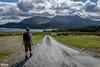 Walk near lough Innagh (janmennens) Tags: ireland shadow sun lake galway landscape see meer lough ie ierland connemaranationalpark innagh nearloughinnagh