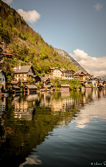 Halstatt and Salzburg-5871 (Husna SM) Tags: travel lake reflection tourism landscape austria spring nikon scenery europe village sightseeing scenic tourist nikkor hallstatt preset 18200mm d90 lr5