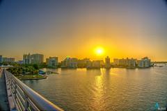 Labor Day Sunrise (dbubis) Tags: ocean sun beach sunrise florida sarasota fl bubis dbphoto nex6