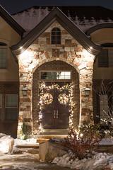 Garland & Wreath (Christmas World) Tags: lighting christmas light house holiday snow tree lights garland led mo event greenery wreaths incandescent slo c9 c7 christmaslitescom
