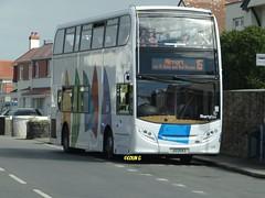 Libertybus 606 (Coco the Jerzee Busman) Tags: uk bus liberty islands coach nimbus ct jersey plus dennis dart channel caetano