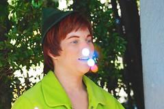 Peter Pan (frozenlanterns) Tags: disneyland peterpan disney facecharacter facecharacters