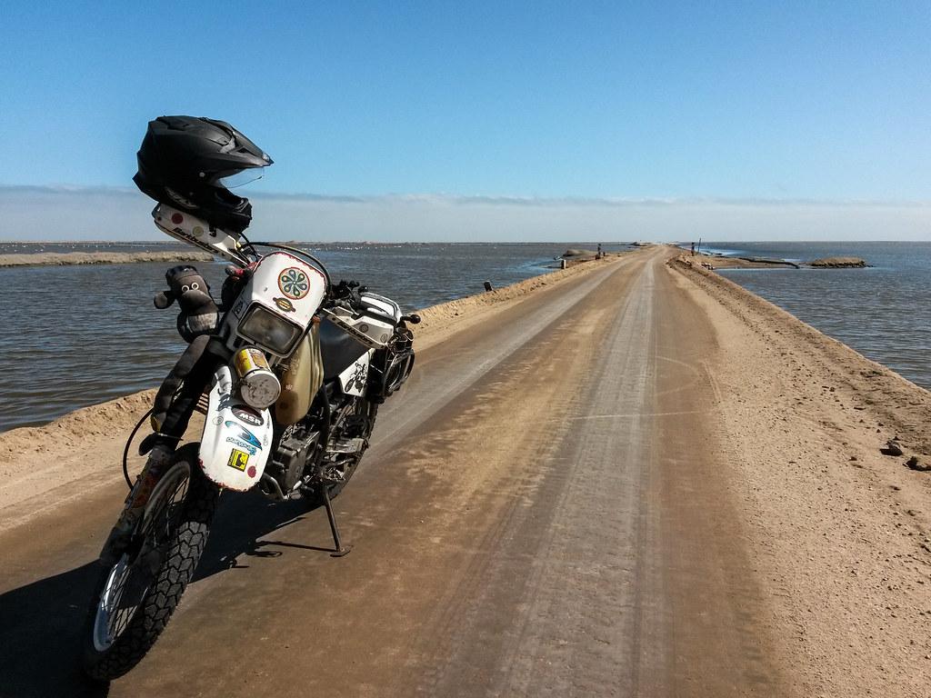 Danielle's Bike, Walvis Bay, Namibia